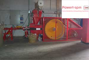 Equipos briquetaje Pawert spm - Productos R&B